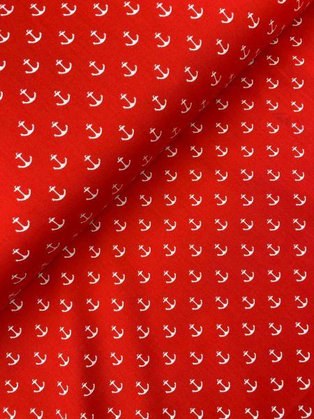 Baumwolle Ankerchen Rot