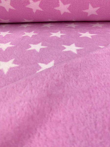 Wellnessfleece Dick Sterne Pink