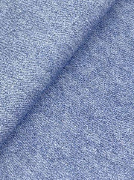 French Terry ÖKOTEX Jeans Blau