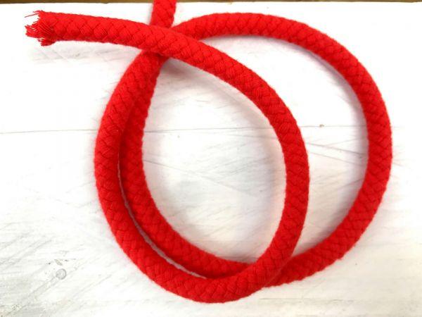 Baumwollkordel 8mm Rot
