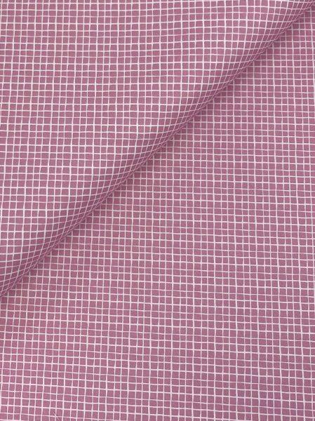 Baumwolle Mini Serie Fischernetz Altrosa