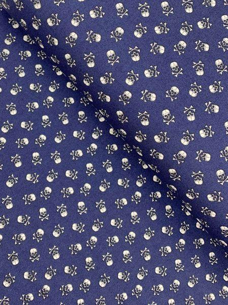 Baumwolle Skully KLEIN Navy