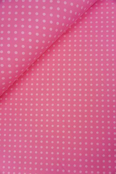 Baumwolljersey Punkt Rosa-Hellrosa