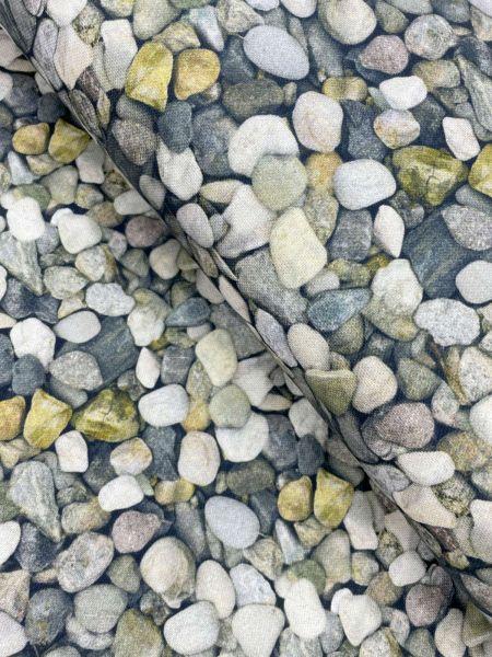 Dekostoff Steine