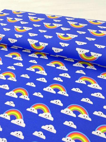 Baumwolljersey 80er Pink