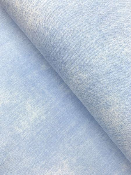Baumwolljersey Ökotex Jeans Hellblau