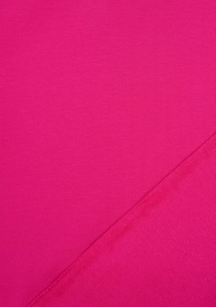 FrenchTerry-Sommersweat UNI Pink