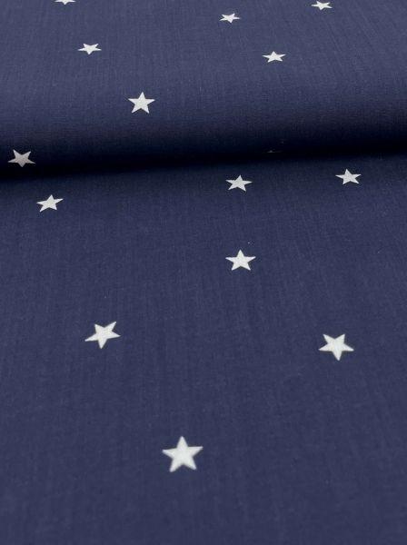 Viscose Webware Star Navy