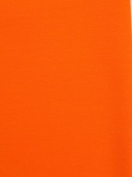 Baumwolljersey Orange11 ÖKOTEX