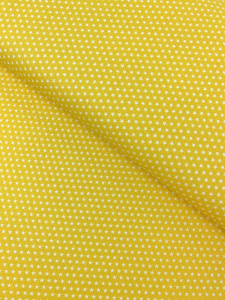 Baumwolle Design by Poppy Sterne Klein GELB