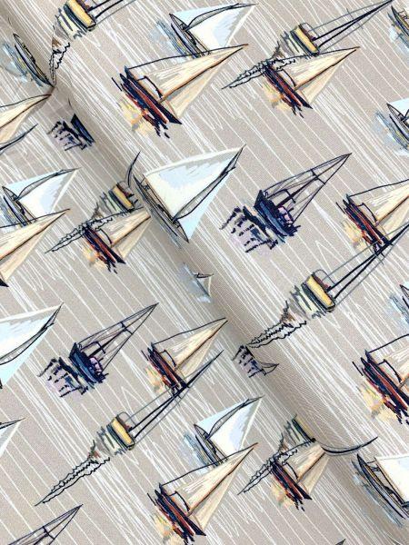 Baumwolljersey Segelschiff