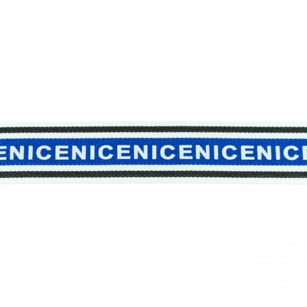 Webband 3cm NICE Blau