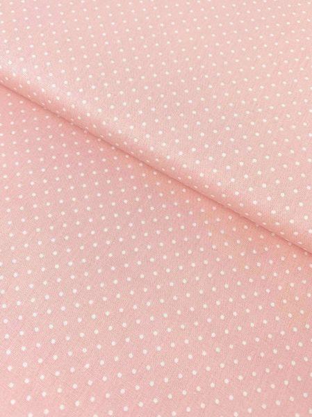Baumwolle Design by Poppy Punkte Klein ROSA