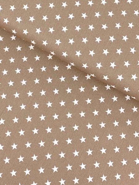 Baumwolle Design by Poppy Sterne Mittel NATUR