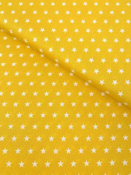 Baumwolle Design by Poppy Sterne Mittel GELB