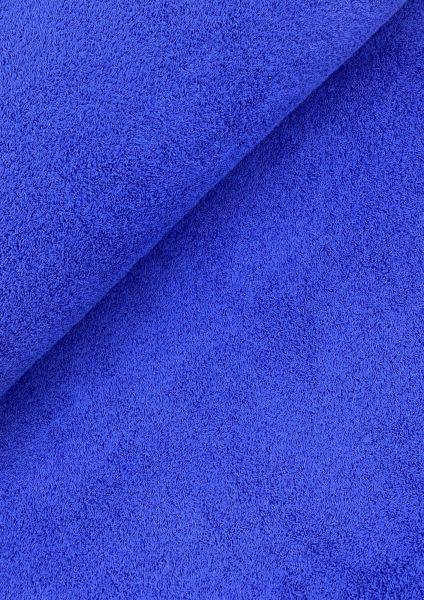 Frottee Stoff Royalblau