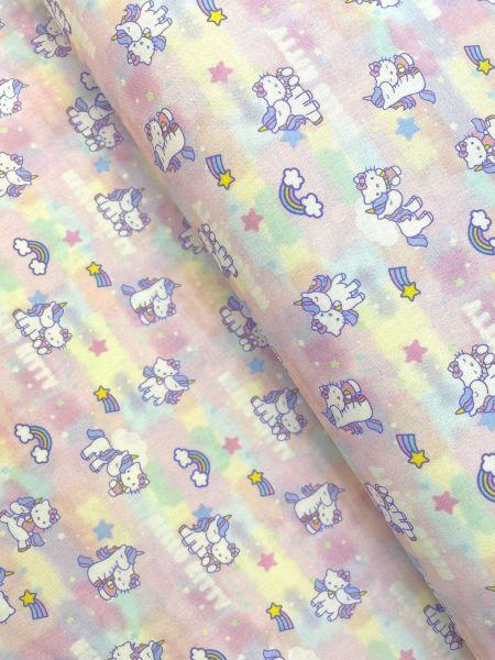 Baumwolle Ökotex Hello Kitty 3