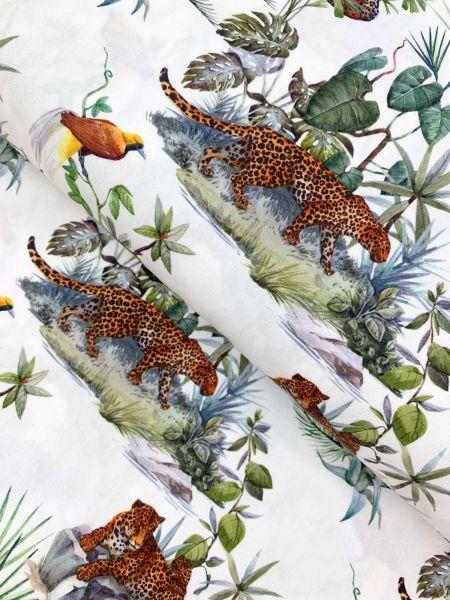 Baumwolle DIGITALDRUCK In the Jungle1