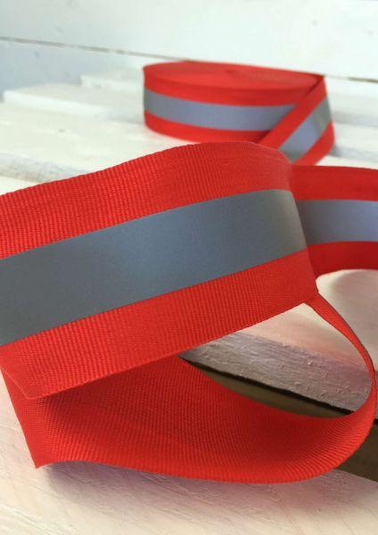 Reflektierendes Band Rot 5cm